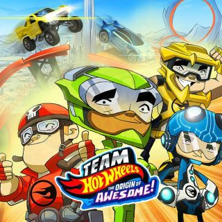 Team Hot Wheels: Origins Of Awesome w Showmax